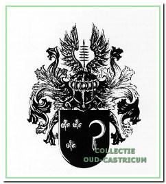 Het wapen van de familie Groentjes uit Castricum.