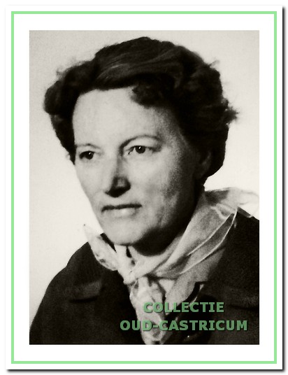 Zuster Margot H. Meihuizen van het Wille Kruis vanaf 1945 tot 1963.