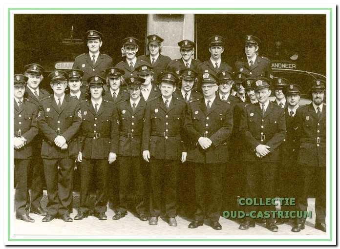 Het korps uit 1971.