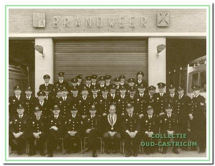 Het korps uit 1991.