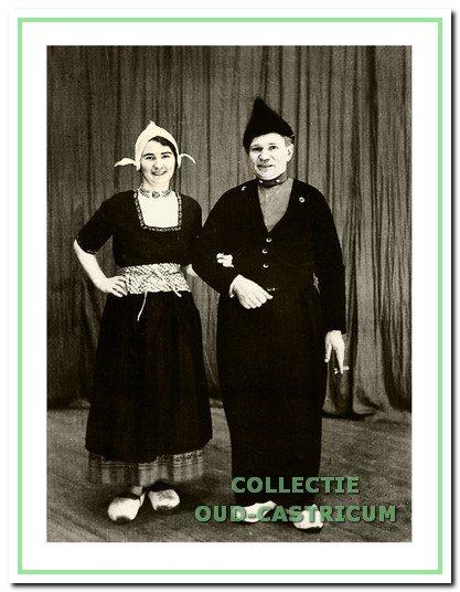 Wub van Weenen en Marie Schermer.