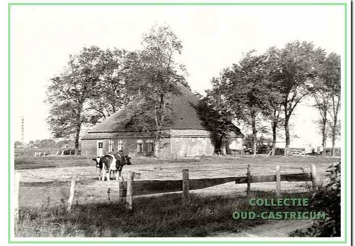 De boerderij van Piet Borst (nr 2).