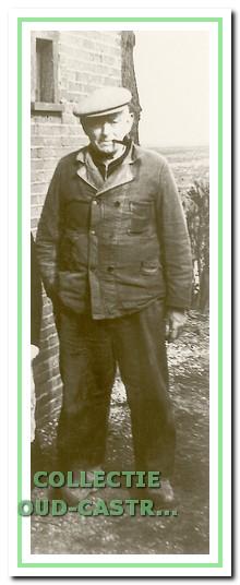 Dirk Schermer, strandvonder van 1937 tot 1952.