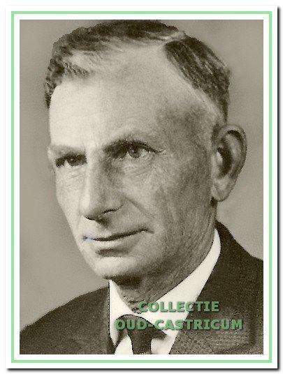 Piet Zonneveld, strandvonder van 1952 tot 1965.