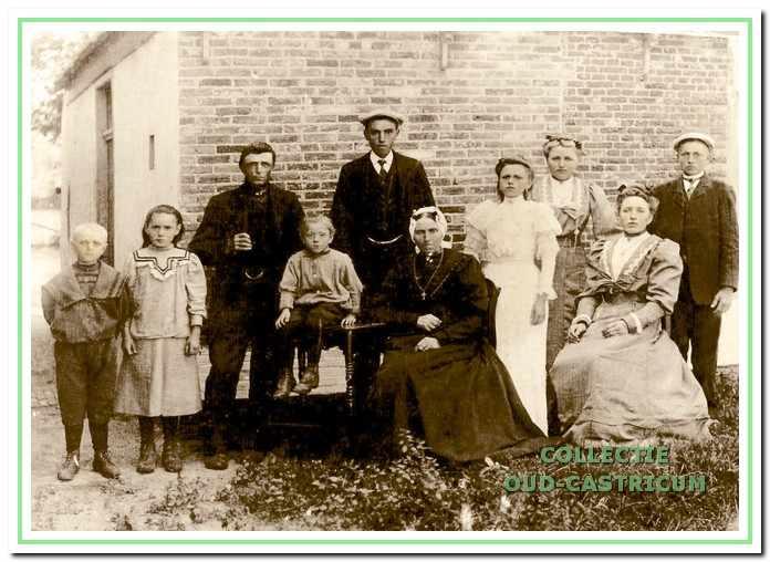 Het gezin van Lammert de Winter.