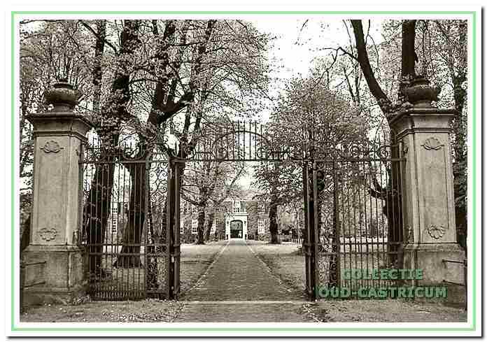 De poort van kasteel Marquette.
