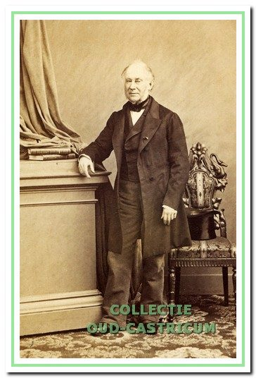 Daniël Theodore Gevers van Endegeest (foto Iconografisch Bureau RKD 's-Gravenhage).