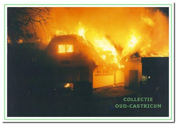 De brand op 2 december 1999.