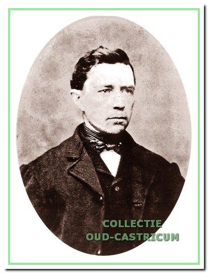 Johannes Res, geb. in 1834 en eerste Res als timmerman aan de Schoolstraat.