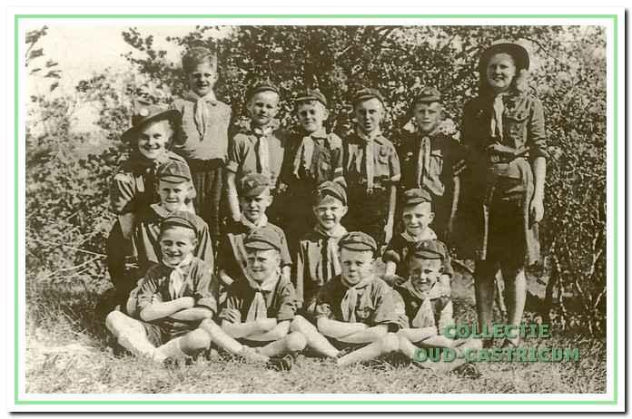 De welpen van de Abel Tasmangroep in 1947.
