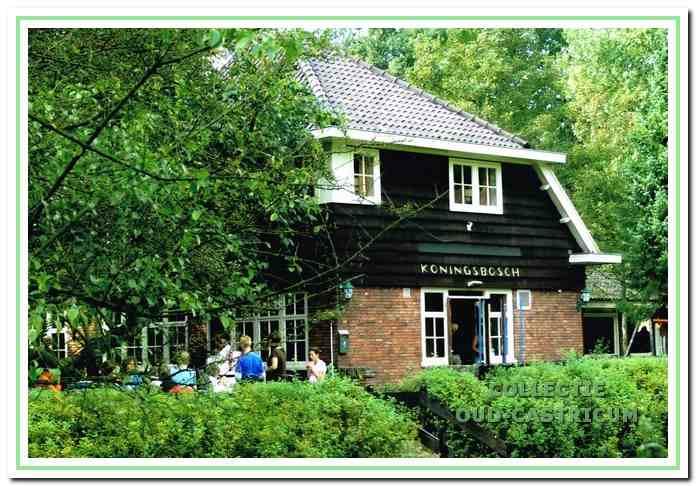 Koningsbosch, de eerste door de NJHC gebouwde jeugdherberg.