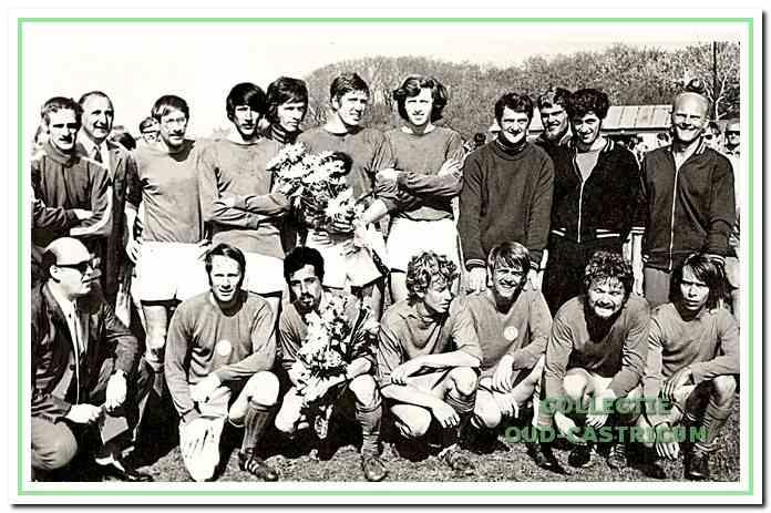 Na een bloedstollende laatste wedstrijd tegen St. Adelbert behaalde CSV de titel in 1970.