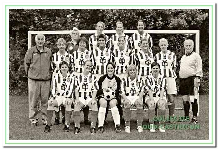 In 2006: het 1e damesteam van FC Castricum.