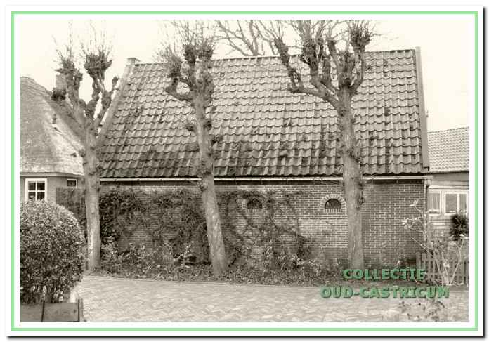 De oorspronkelijke 'tuinderswoning', gelegen naast de boerderij aan de Breedweg 55.