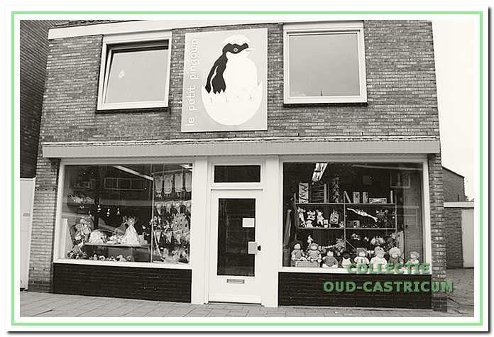 Foto van 'Het Spoelhuis', Dorpsstraat 83, waarschijnlijk kort na de opening in 1992.