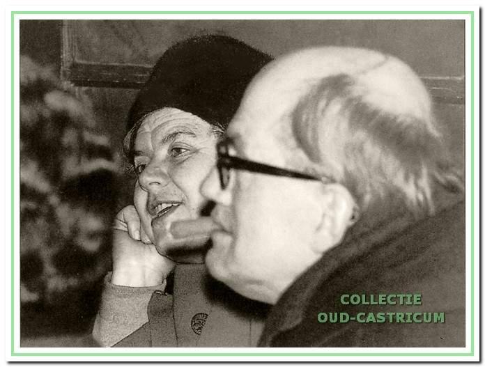 Cor Heeck en zijn vrouw Kitty Witte.