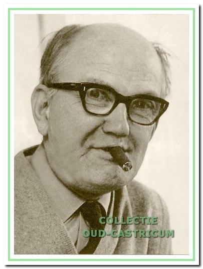 Cor Heeck, onafscheidelijk van zijn sigaar.
