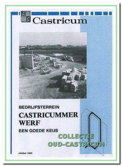 Brochure bedrijventerrein Castricummerwerf.
