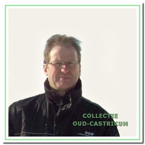 IJsmeester Hans Teeling.