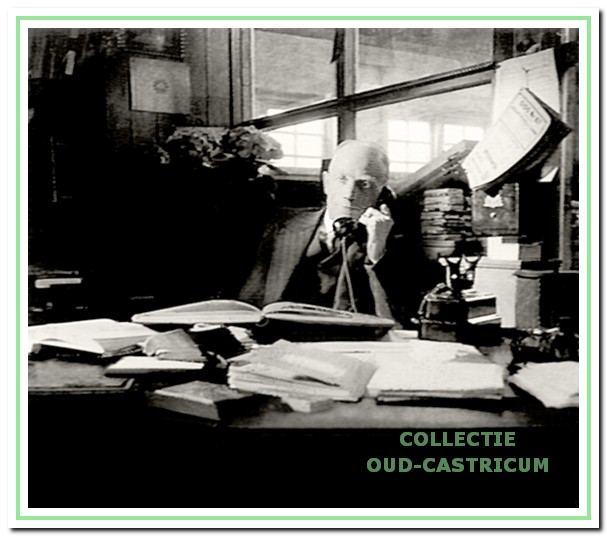 Louis Winkeler die in 1924 de Castricummer Courant uitgaf.