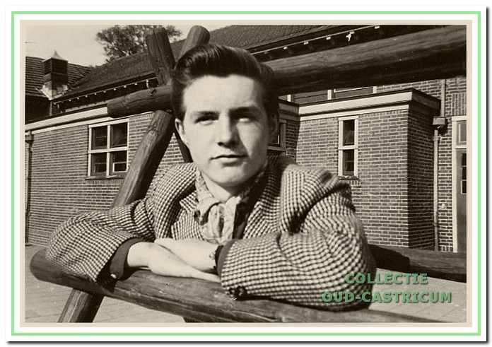 Jan van der Schaaf, die vanaf zijn schooltijd het liefst muziek maakte.