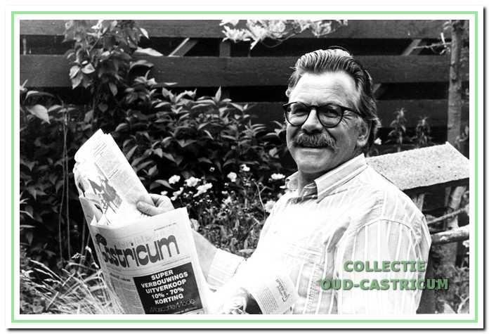 Ad van de Velde werkte 34 jaar voor het Nieuwsblad.