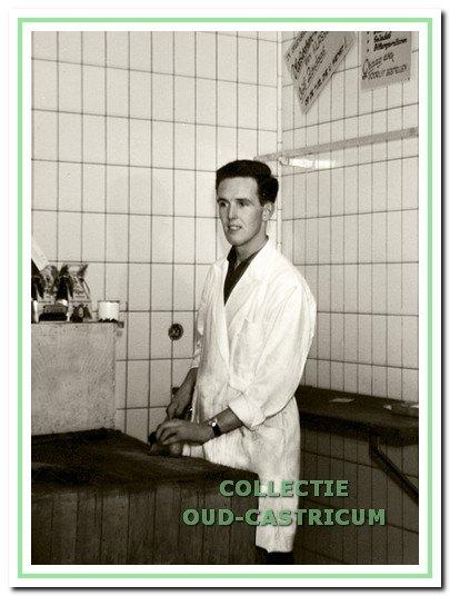 Jan Sneekes in de jaren 1960.