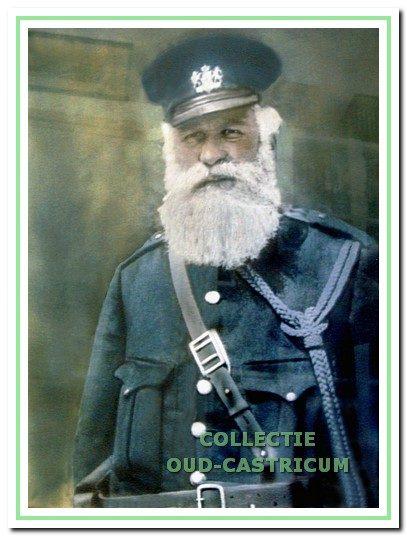 Pieter Koelewijn, rijksveldwachter.