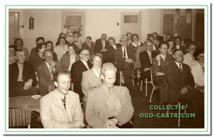 Een oudercontactavond in 1959.