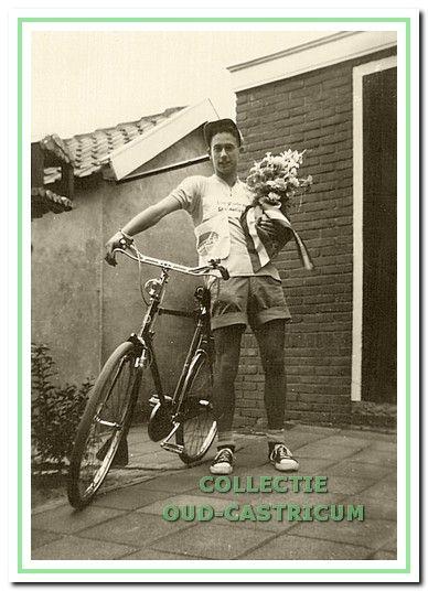 Will van den Berg, eerste tourwinnaar.