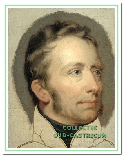 Koning Willem I, Bakkum 1829.