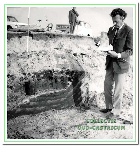 Eerste uur. Niek Steeman was een van de leden die vanaf de oprichting actief was voor de werkgroep. Bij het archeologisch onderzoek in het Willem de Rijkepark speelde hij een belangrijke rol.