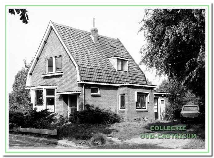 Het huis aan de Breedeweg nummer 44 omstreeks 1982.