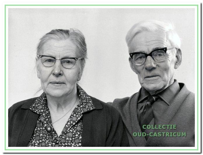 Grietje Lute en Hein Hoek.