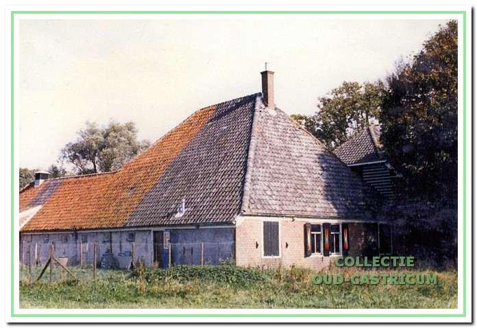 Boerderij Zeeveld, Noorderstraat 2 in Bakkum, 1983.