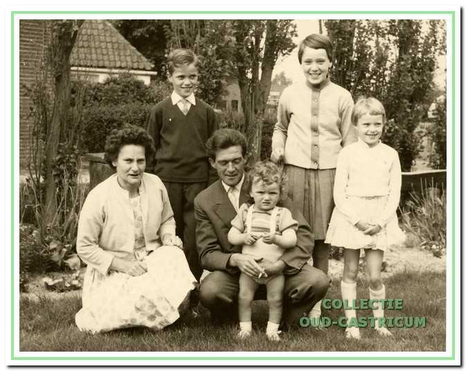Het gezin Verver–Metselaar.