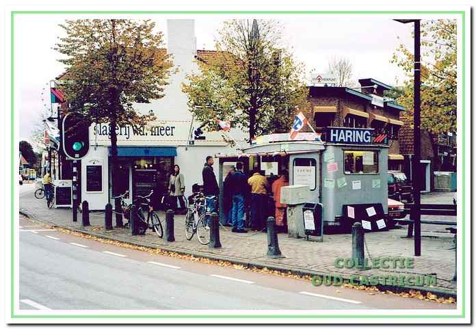 De haringkar van Fred de Gans heeft jarenlang aan de Dorpsstraat in Castricum gestaan.