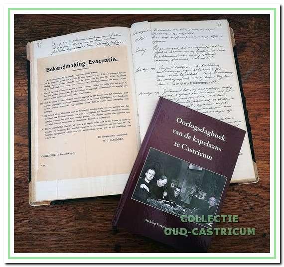 Oorlogsdagboek van de kapelaans te Castricum.