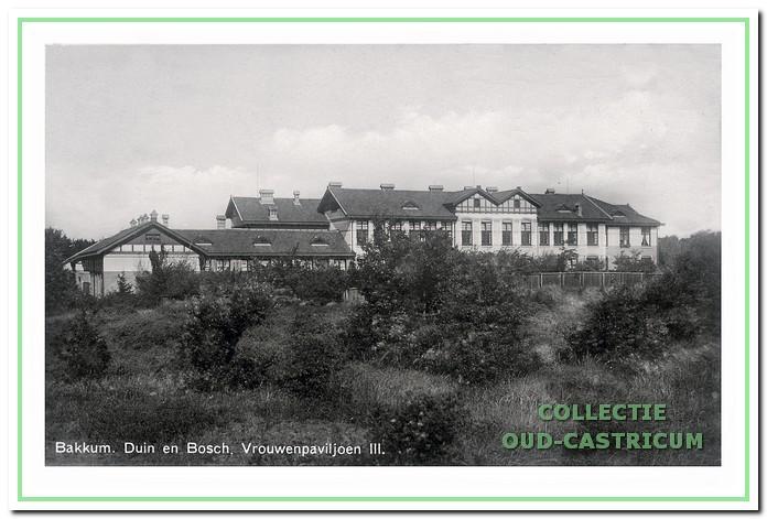 Paviljoen vrouwen III, later paviljoen Kinnehin geheten en nu omgevormd tot een zeer luxe appartementengebouw 'Prinses zu Wied'.