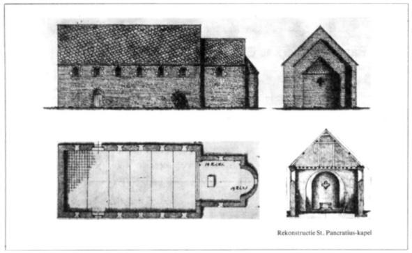 Reconstructie Sint Pancratius kapel