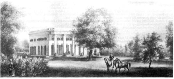 Beijerslust te Heemskerk omstreeks 1842.