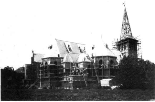 Bouw huidige Pancratiuskerk