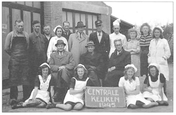 Het 'thuisfront' in Limmen op 9 mei 1945.