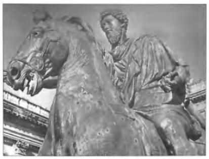 Marcus Aurelius, de echtgenoot van Faustina II.