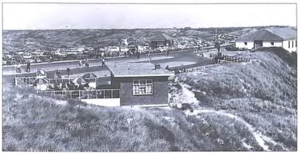 Het gebouwtje waar nu (in 2001) paviljoen 'De Jutter' is gevestigd.