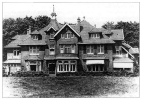 Villa Koningshof in Overveen.