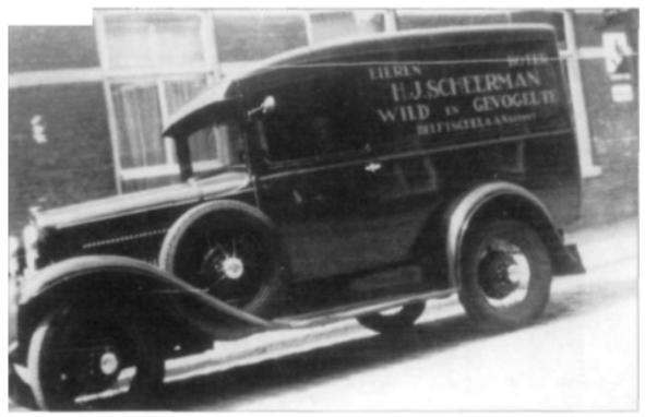 In de (negentien)dertiger jaren werd een A-Ford aangeschaft die nog tot 1950 dienst heeft gedaan.