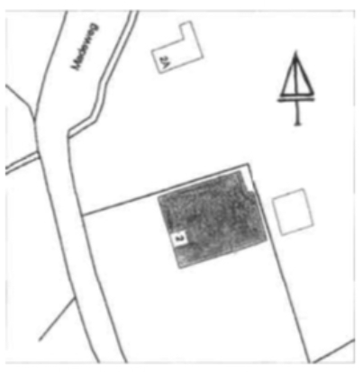 De ligging aan de Madeweg.