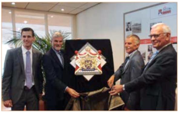 AC Borst Bouw heeft het predicaat Hofleverancier ontvangen uit handen van de Commissaris van de Koning.
