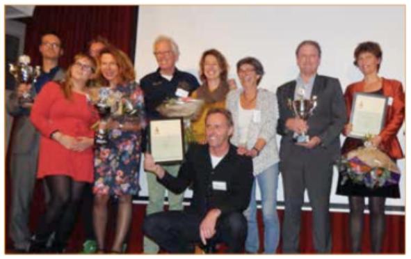 Het Ondernemerscongres Castricum: de ondernemersprijs 2014 is toegekend aan Drost Technical Management.